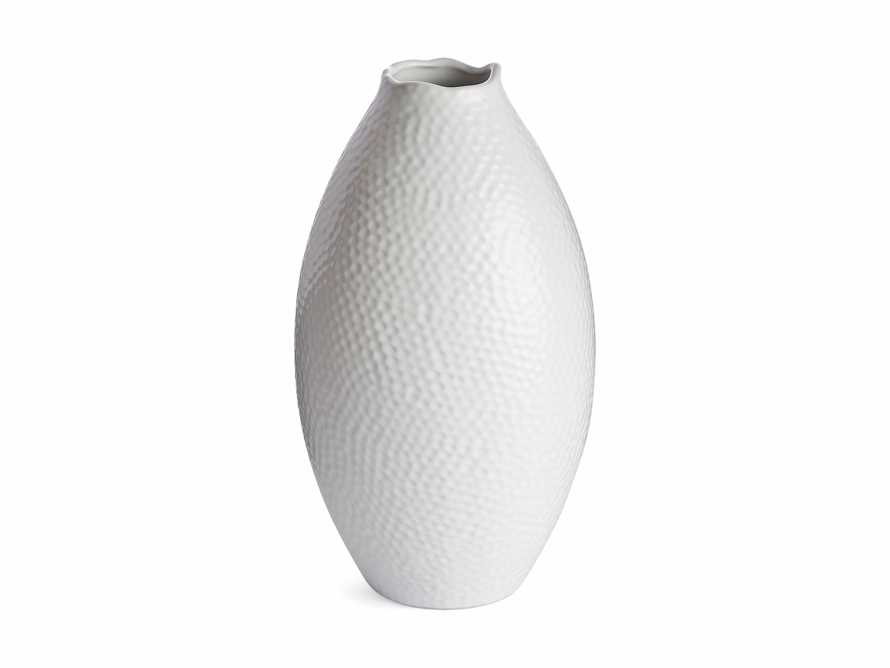 Eva Tall Vase in White