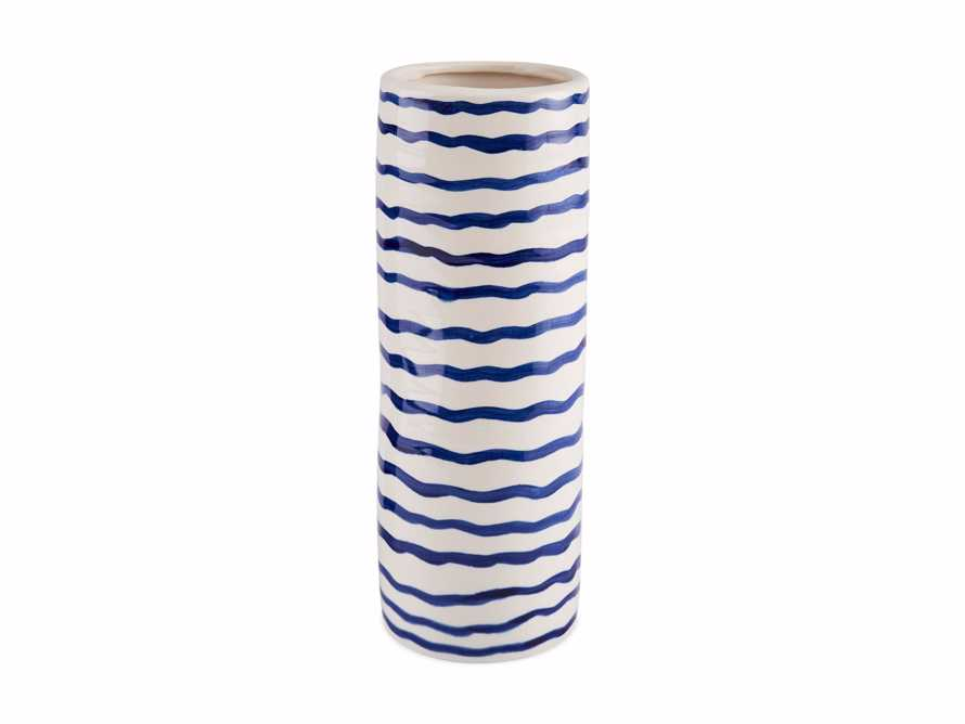 Blue and White Stripe Vase, slide 4 of 5