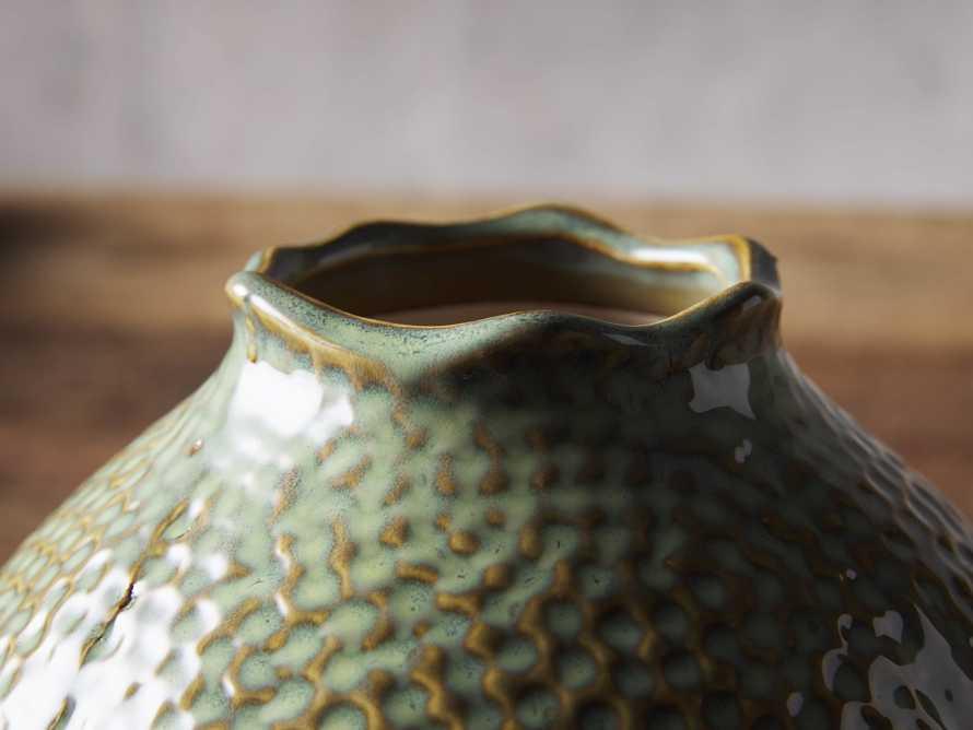 Eva Small Round Vase in Heather, slide 2 of 2