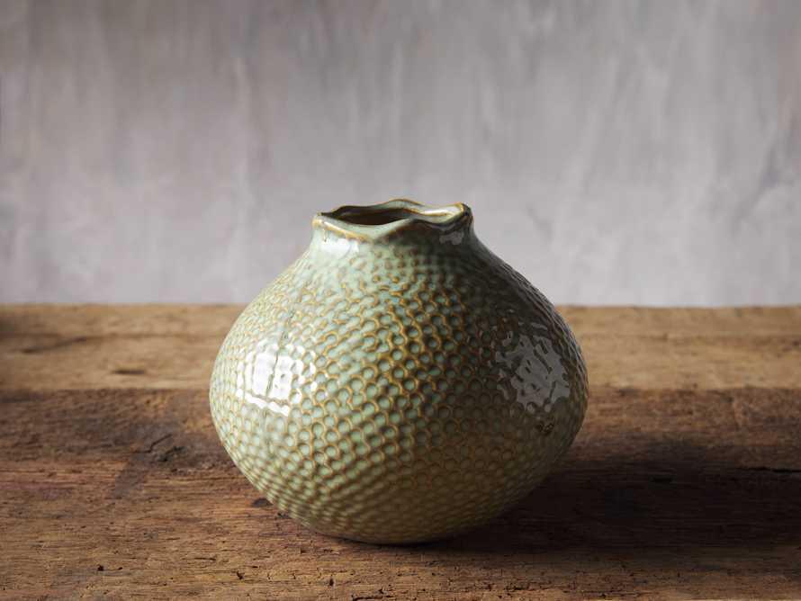 Eva Small Round Vase in Heather, slide 1 of 2