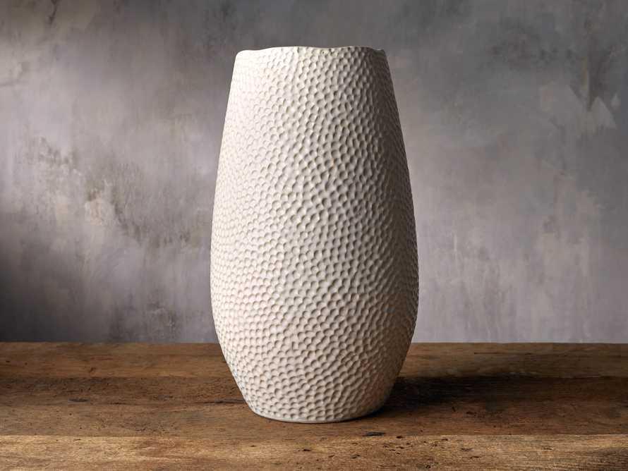 Eva Grand Vase in Cream, slide 1 of 2