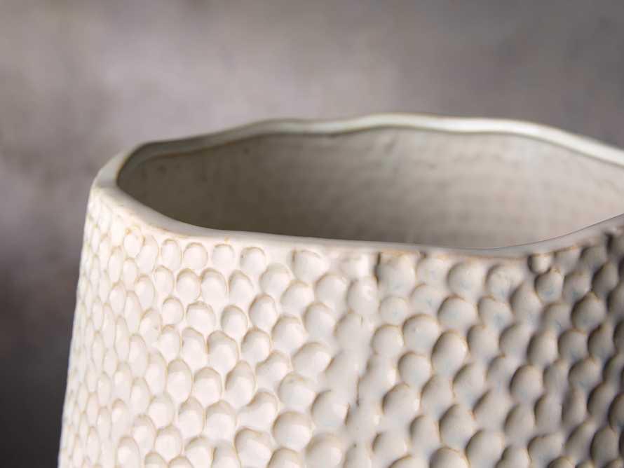 Eva Grand Vase in Cream, slide 2 of 2