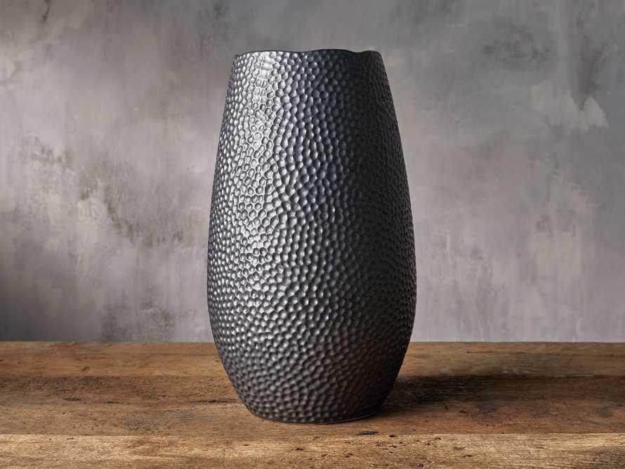 Eva Grand Vase in Black, slide 1 of 2