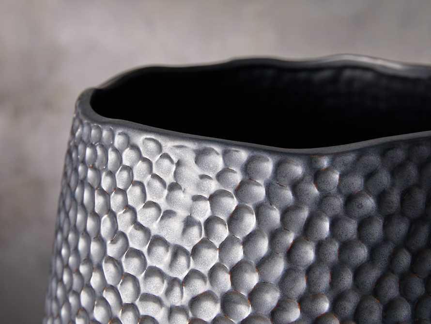Eva Grand Vase in Black, slide 2 of 2