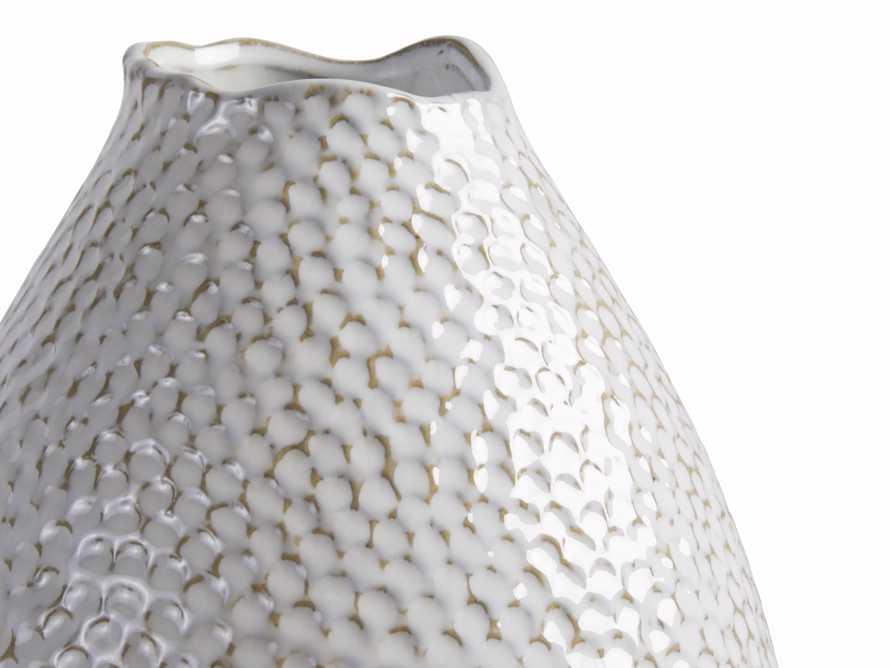 Eva Tall Vase in Cream