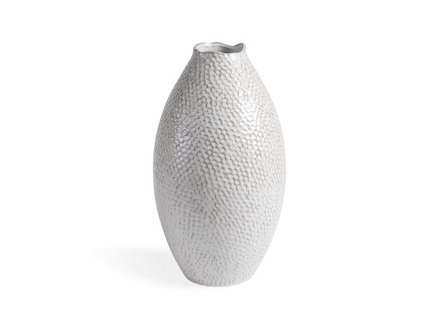 Eva Tall Vase in Cream, slide 3 of 8
