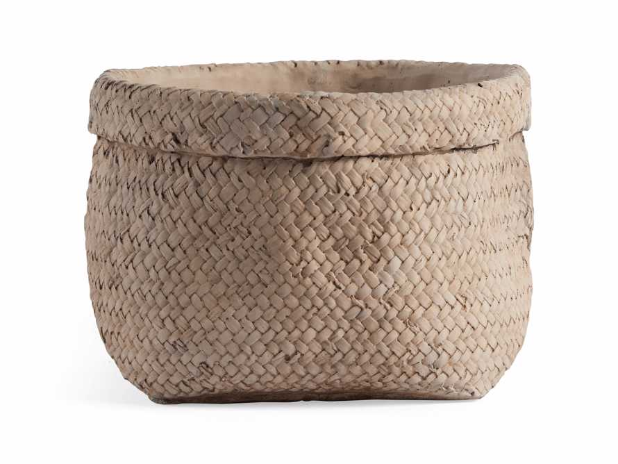 "Woven 9"" Planter, slide 6 of 6"