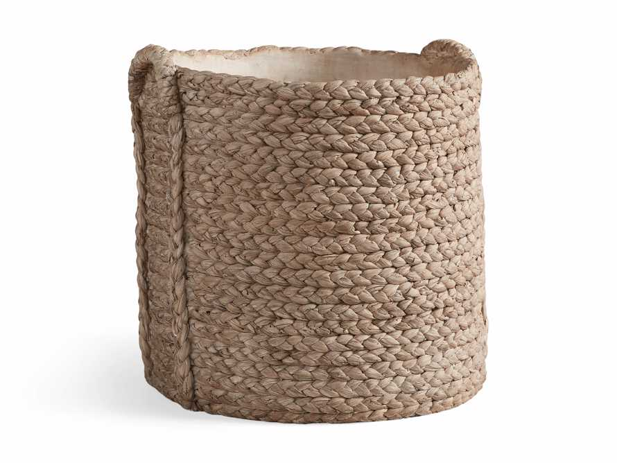 Large Woven Long Handle Planter, slide 6 of 6