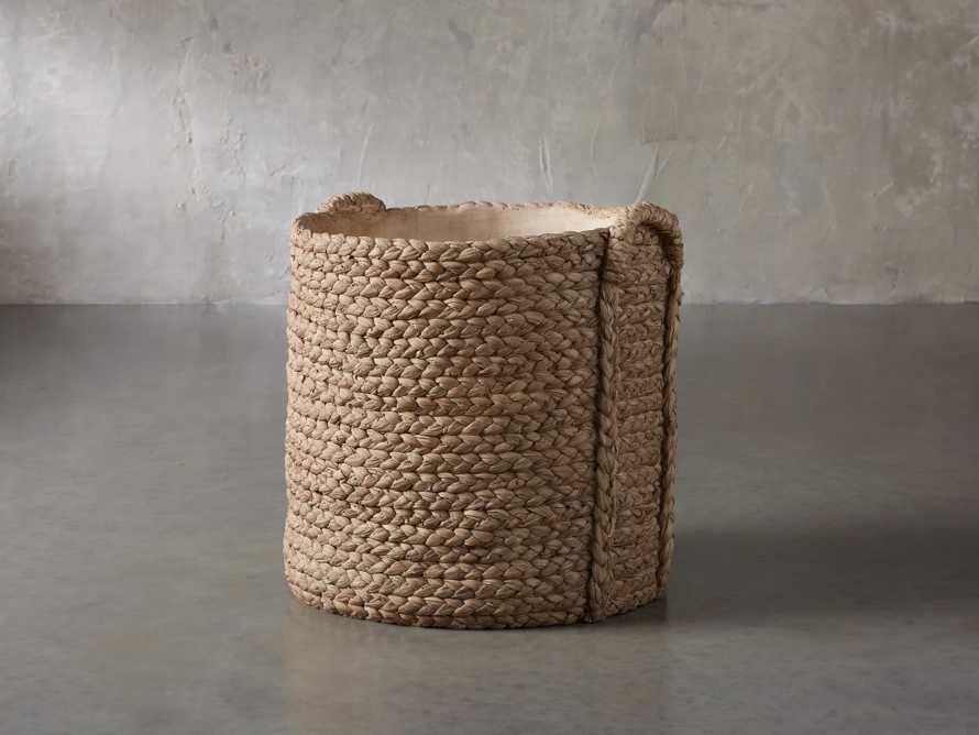 Large Woven Long Handle Planter, slide 1 of 6