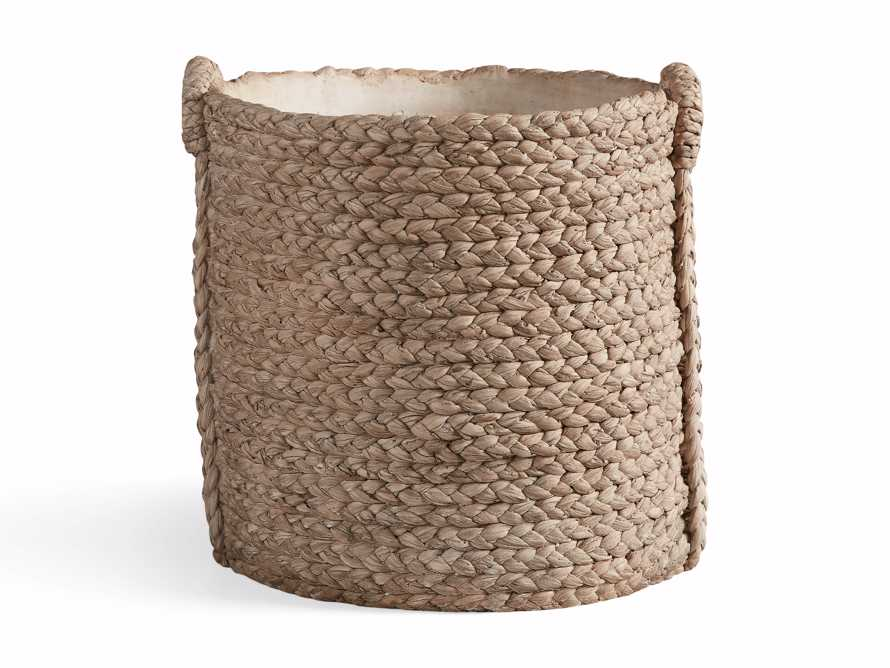 Large Woven Long Handle Planter, slide 5 of 6