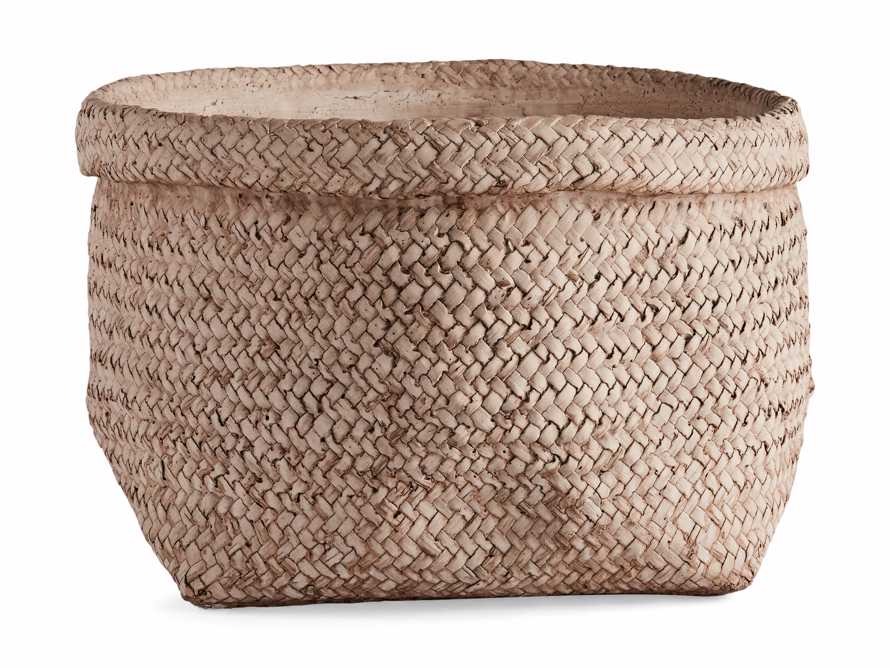 Woven Folded Rim Planter, slide 3 of 5