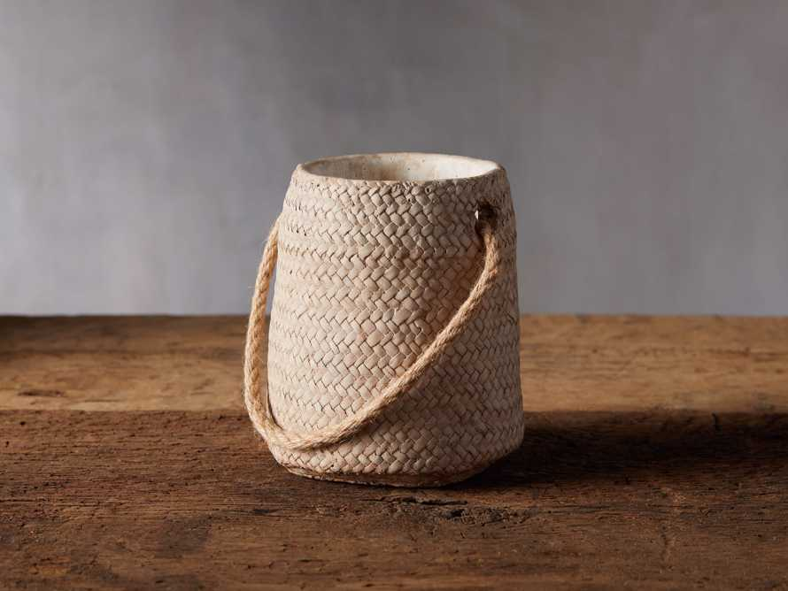 Woven Hanging Planter, slide 1 of 4