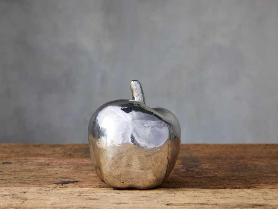 Silvered Apple, slide 1 of 2