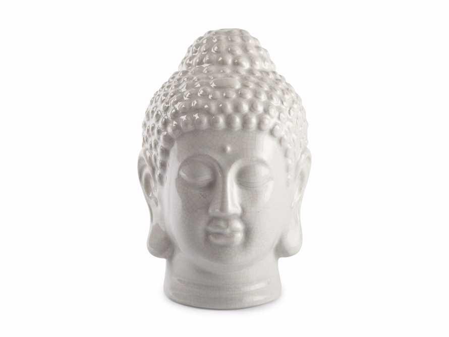 Crackle Buddha Head, slide 3 of 3