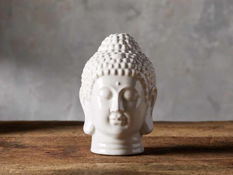 Crackle Buddha Head, slide 1 of 3