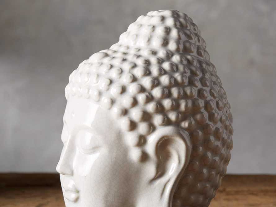Crackle Buddha Head, slide 2 of 3