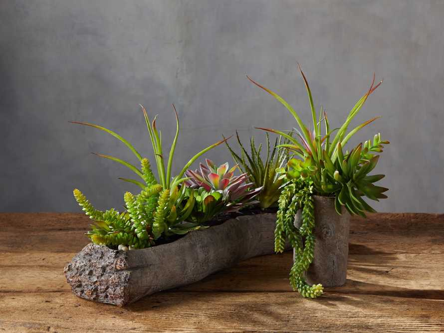 Driftwood Centerpiece with Faux Botanicals, slide 2 of 2