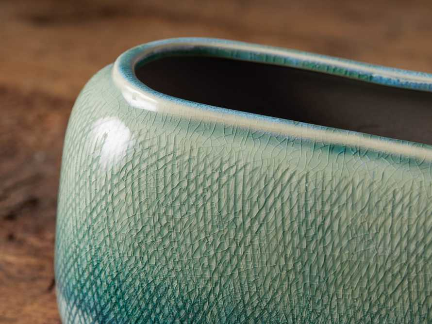 "Jade 5.5"" Ombre Vase, slide 2 of 4"