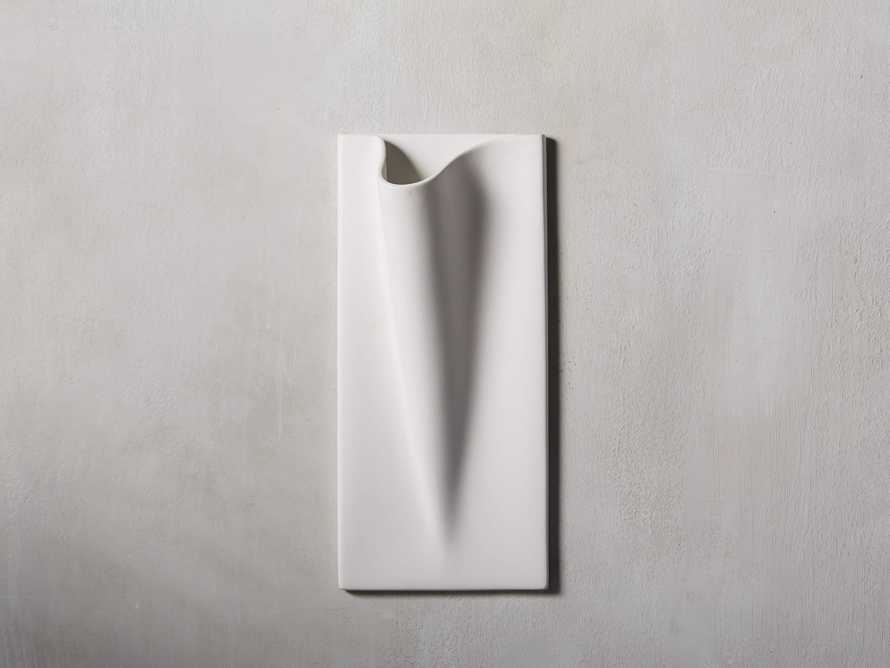 Matte Wall Pocket Vase, slide 1 of 3