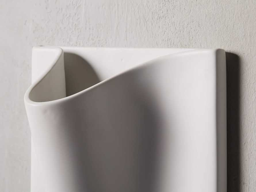 Matte Wall Pocket Vase, slide 2 of 3