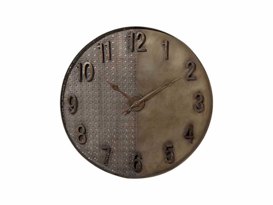 "Merida 39"" Clock in Antique Gold, slide 4 of 4"