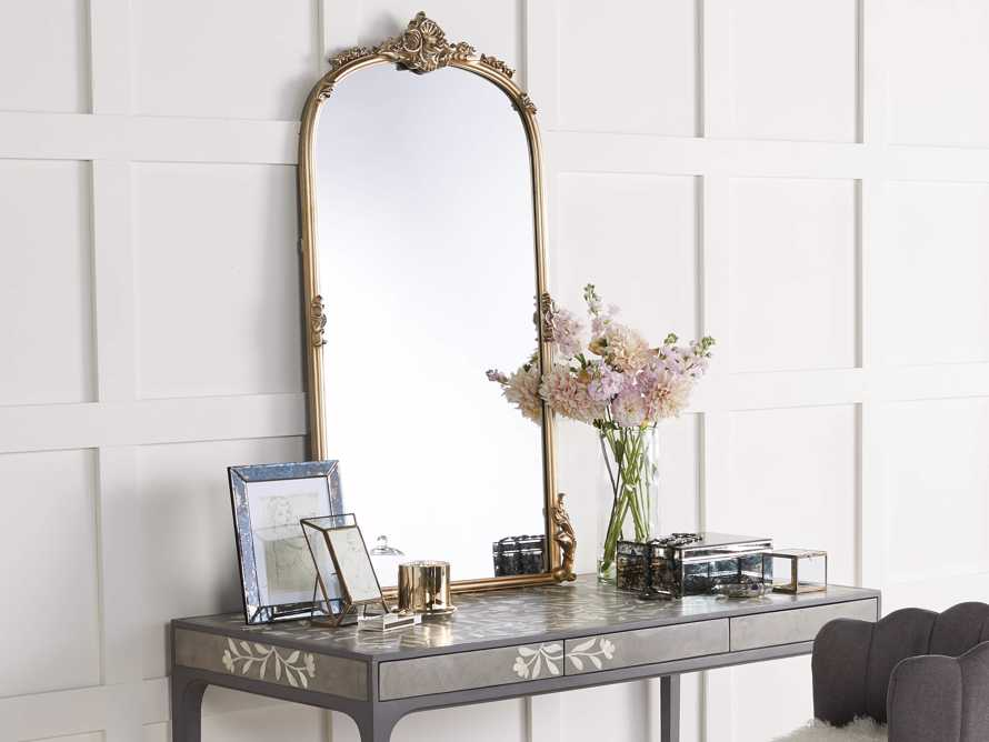 Amelie Wall Mirror in Gold, slide 2 of 5