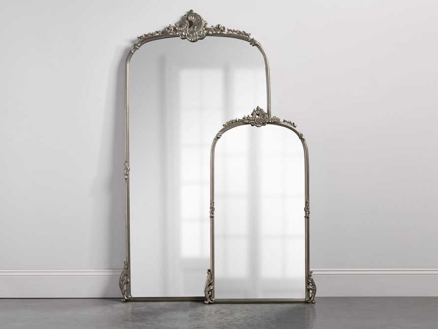 "Amelie 28"" Wall Mirror in Silver, slide 5 of 8"