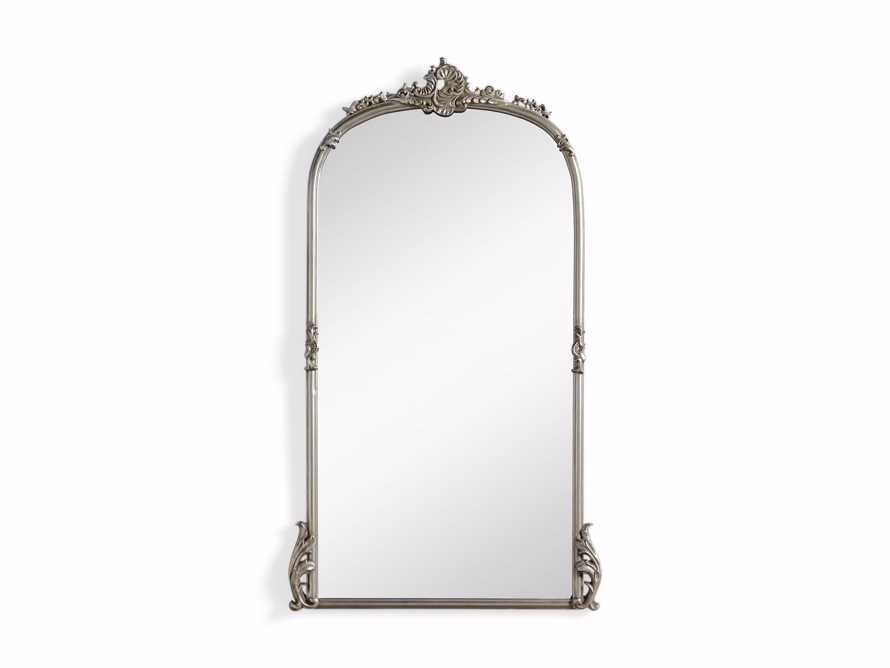 "Amelie 28"" Wall Mirror in Silver, slide 4 of 8"
