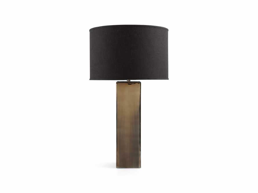 Adrano Table Lamp in Gold With Black Shade, slide 2 of 2