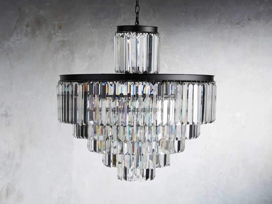 Leyland 22 Light Chandelier in Bronze, slide 2 of 4