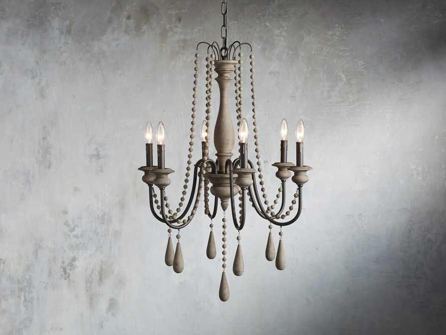 Louise Chandelier - Come take a peek at more Arhaus French Vintage Timeless Furniture, Decor and Lighting on Hello Lovely Studio.