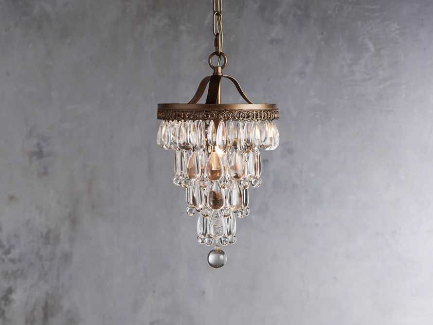 Anabella Pendant in Antique Gold