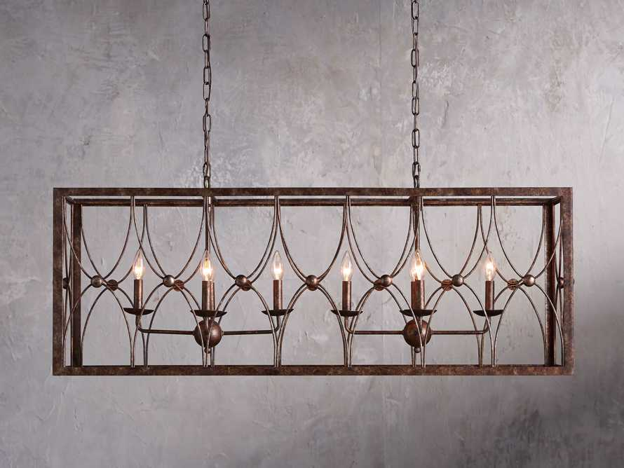 "Sardinia 48"" Rectangle Chandelier"