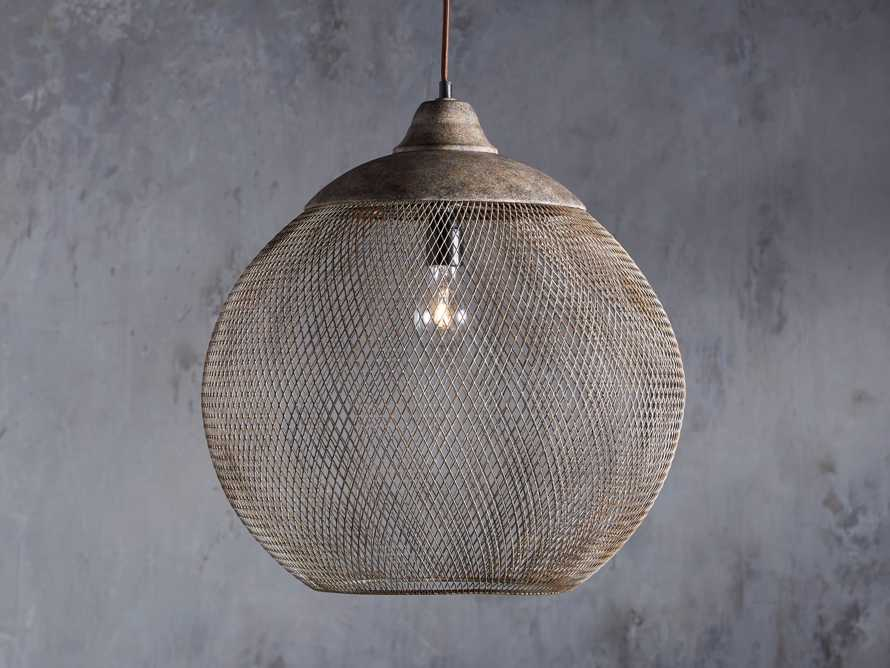 Lanister Large Mesh Pendant, slide 1 of 9