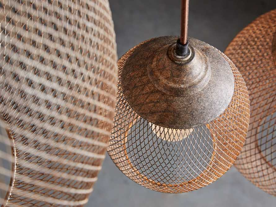 Lanister Large Mesh Pendant, slide 4 of 10
