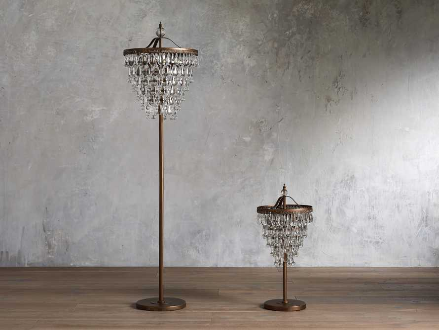 Anabella Floor Lamp in Antique Gold, slide 3 of 4