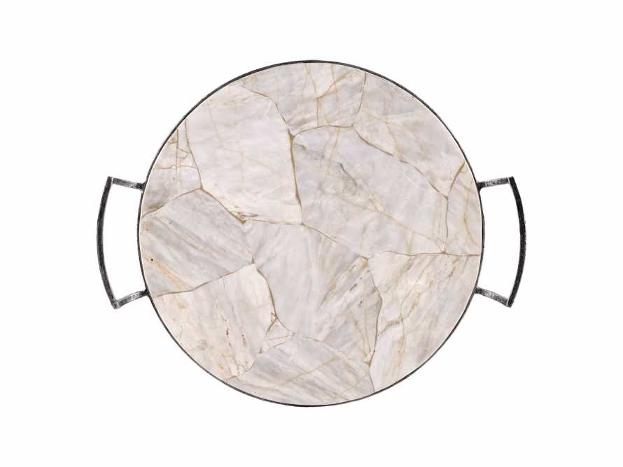 "Petra 18"" Century Marble Tray, slide 3 of 6"
