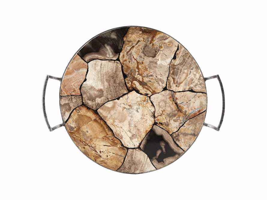 Petrified Wood Petra Tray, slide 2 of 4