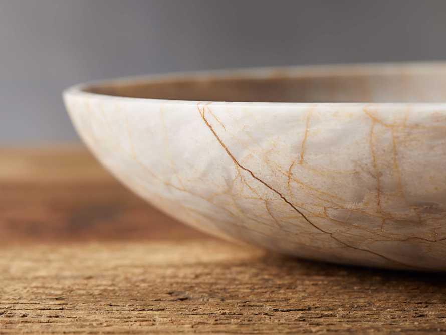 Petra Century Marble Bowl, slide 2 of 9
