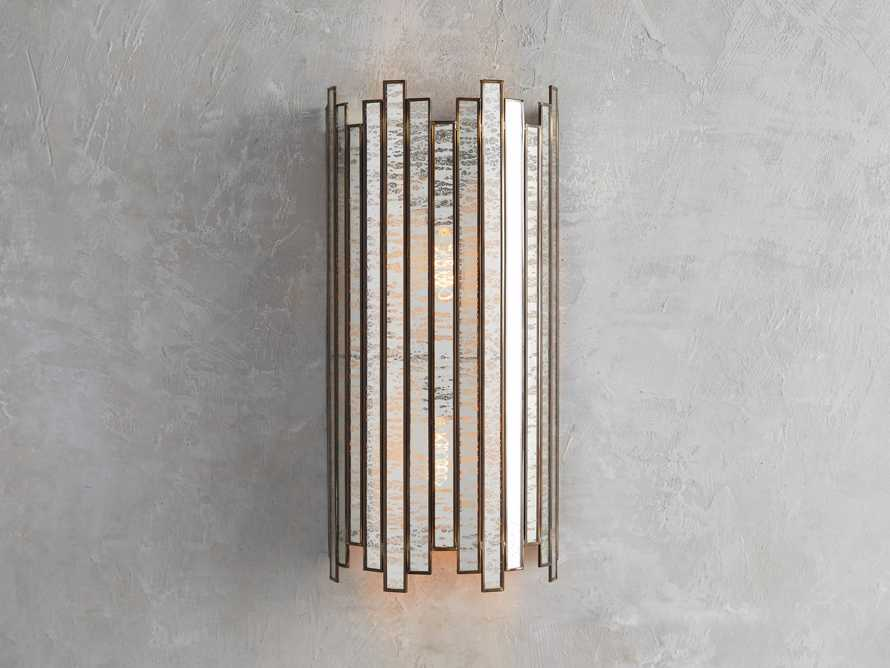 Laila Wall Sconce in Antique Copper, slide 2 of 4
