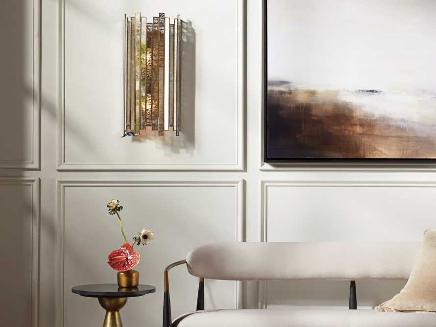 Laila Wall Sconce in Antique Copper, slide 3 of 5