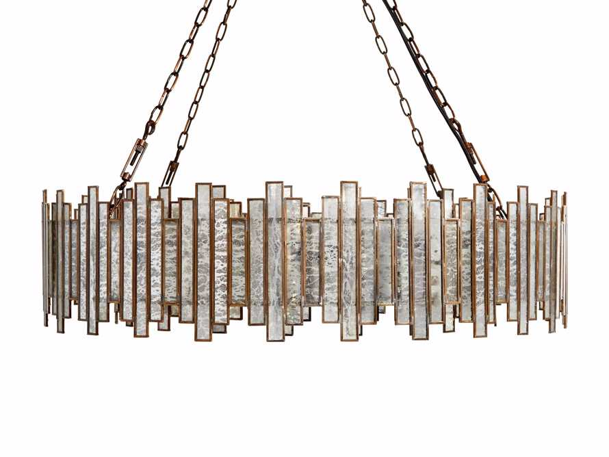 Laila Large Chandelier in Antique Copper, slide 5 of 6