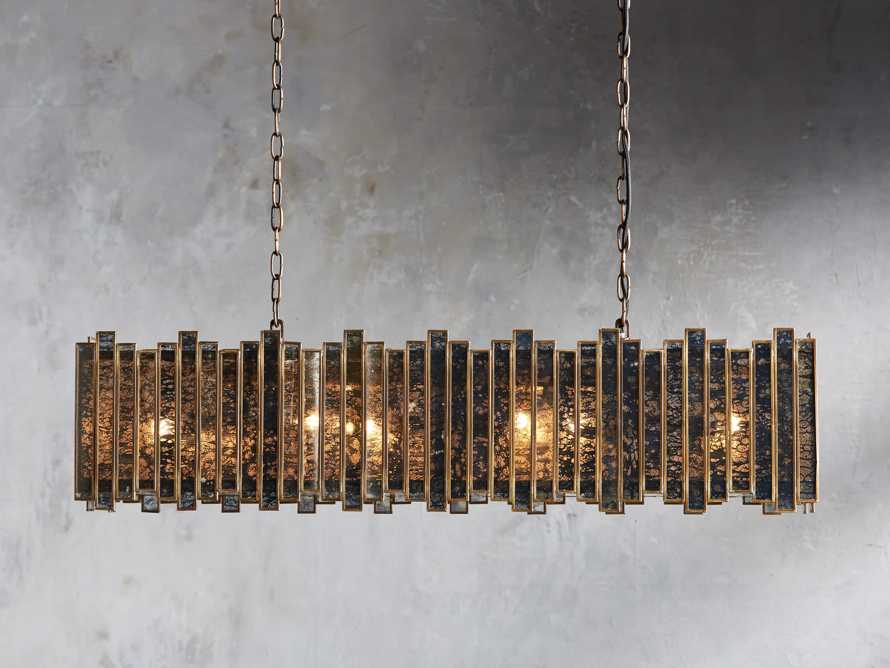 "Laila 37"" Rectangle Chandelier, slide 1 of 3"