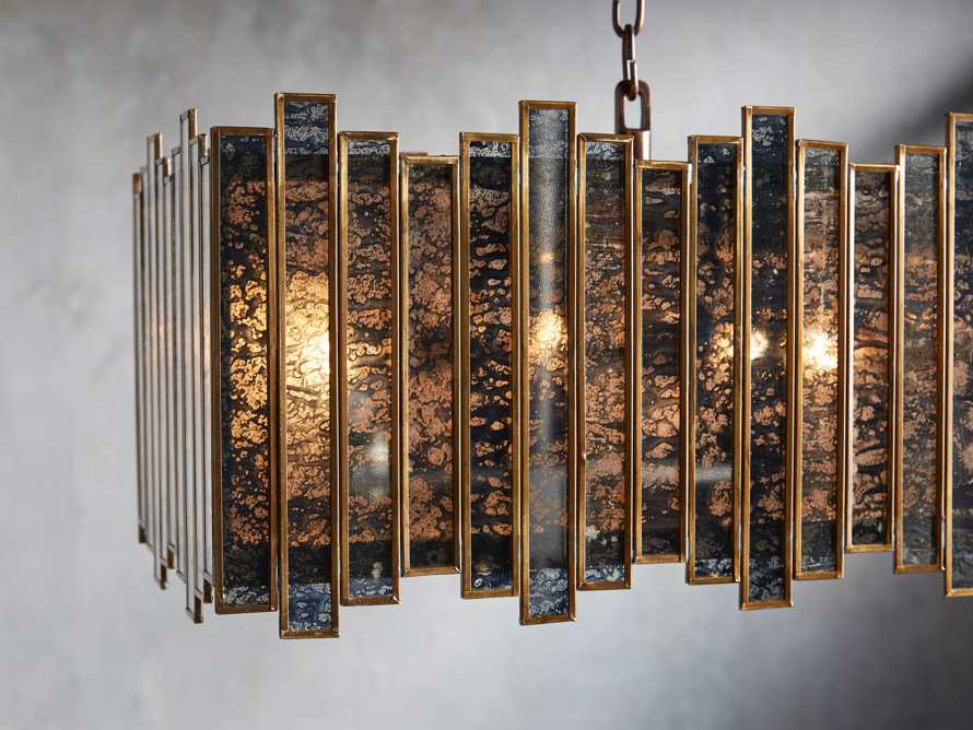 "Laila 37"" Rectangle Chandelier, slide 2 of 3"