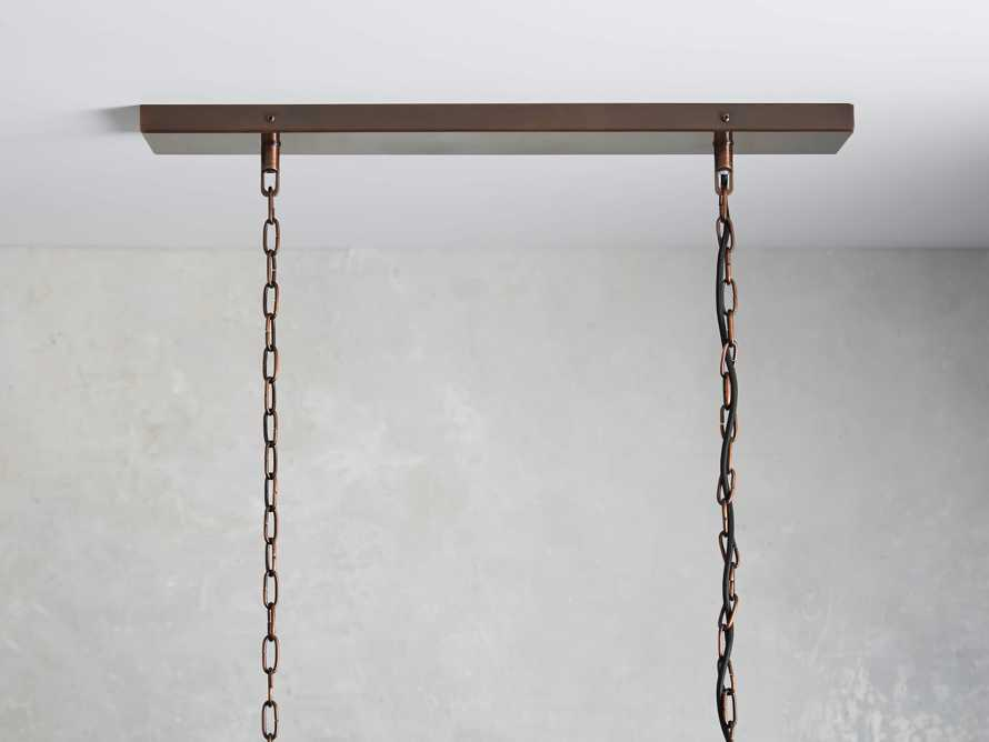"Laila 37"" Rectangle Chandelier, slide 3 of 3"