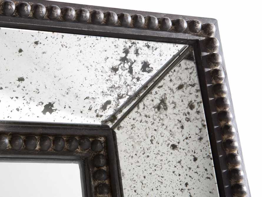 "SERANO 39"" X 72"" ANTIQUED FRAME MIRROR, slide 2 of 5"