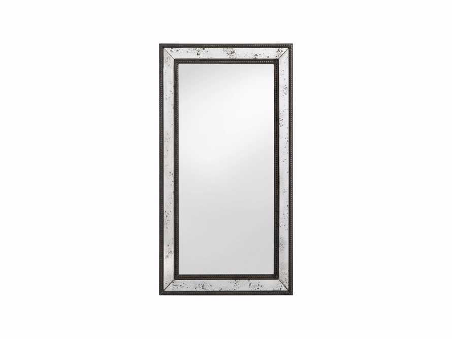 "SERANO 39"" X 72"" ANTIQUED FRAME MIRROR, slide 4 of 5"