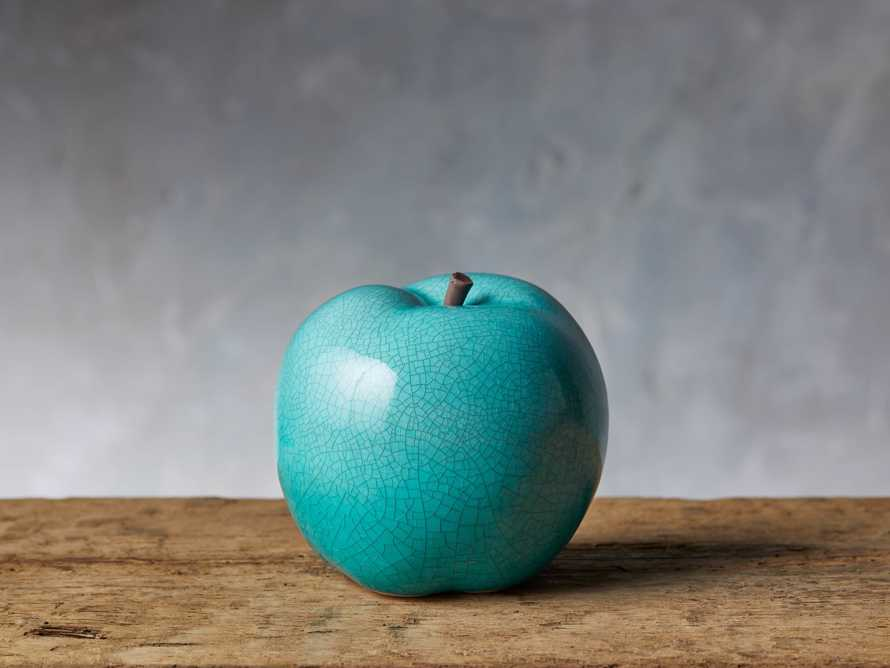 "4.75"" Ceramic Apple, slide 1 of 4"