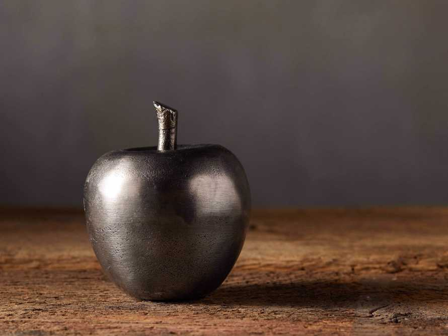 Antique Nickel Apple, slide 1 of 4