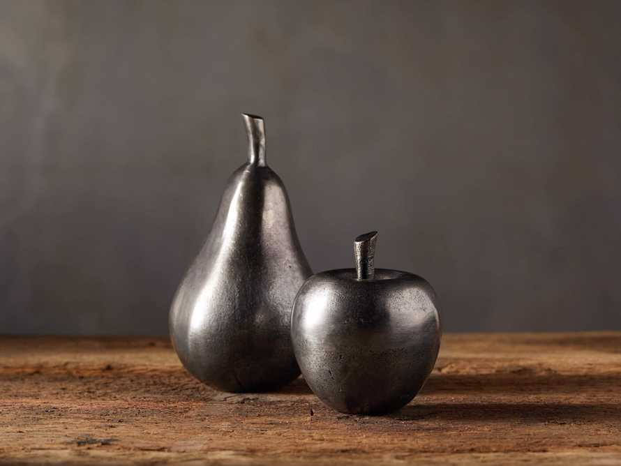 Antique Nickel Apple, slide 3 of 4